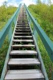 Stairway ao céu Foto de Stock Royalty Free