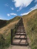 Stairway ao céu fotos de stock