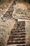 Stairway ao céu Fotos de Stock Royalty Free