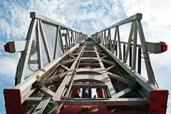Stairway ao céu. imagem de stock royalty free
