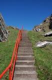 Stairway ao céu Fotografia de Stock Royalty Free