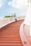 Stairway ao objetivo no templo Fotos de Stock