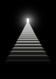Stairway ao sucesso ilustração royalty free