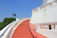 Stairway. Bangkok, Thailand, Southeast Asia -  Golden Mount temple steps. Stairway to heaven Stock Photos