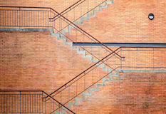 Stairway of the building Stock Photography