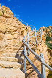 Stairway by the coast Royalty Free Stock Photos