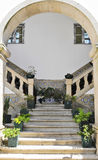 Stairway com telhas Imagens de Stock Royalty Free