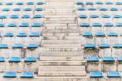 Stairway corridor grandstand arena Stock Image
