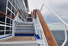 Stairway on a cruise ship Stock Images