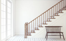 Stairway. 3d render. Stock Images