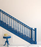 Stairway. 3d rendering. Royalty Free Stock Photography