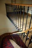Stairway da casa de Paris imagem de stock