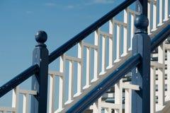 Stairway de madeira Imagem de Stock
