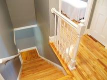 Stairway de madeira Imagens de Stock Royalty Free