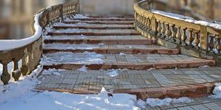 Stairway de pedra Foto de Stock Royalty Free