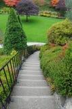 Stairway do jardim Foto de Stock