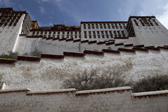 Stairway do potala Foto de Stock Royalty Free