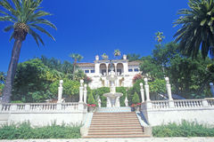 Stairway entrance to the Hearst Castle, San Simeon, Central Coast, California Stock Image