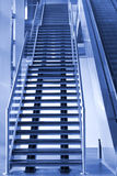 Stairway and Escalator going up Royalty Free Stock Image