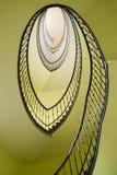 Stairway espiral imagens de stock