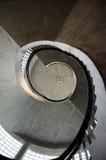 Stairway espiral Imagem de Stock Royalty Free