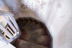 Stairway espiral Imagem de Stock