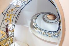 Stairway espiral Foto de Stock