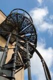 Stairway espiral Fotos de Stock