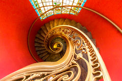 Stairway espiral Fotos de Stock Royalty Free