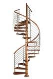 Stairway espiral fotografia de stock royalty free