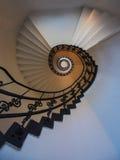 Stairway espiral Fotografia de Stock
