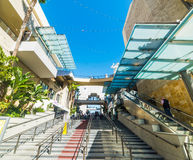Stairway in Hollywood & Highland mall Royalty Free Stock Photos