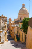 Stairway In Noto Stock Photography