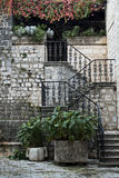 Stairway in kotor montenegro Stock Photos