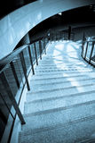 Stairway leading to basement. The stairway leading to the basement,could represent a unknown, ambience,a journey, or failure Royalty Free Stock Photos