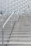 Stairway leading to a modern stadium Royalty Free Stock Photos