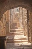 Stairway in Jerusalem, Israel Stock Photography