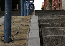 Stairway in Liege Royalty Free Stock Photos