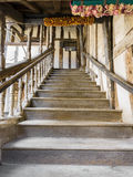 Stairway at the Lord Leycester hospital Royalty Free Stock Image