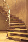 Stairway in luxury home Stock Images