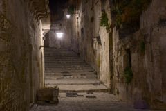 Stairway in matera Stock Images