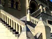 A Stairway of Mixed Design Royalty Free Stock Photography