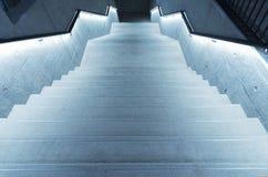 Stairway moderno foto de stock