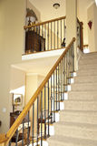Stairway Of Modern Home Royalty Free Stock Photos