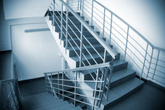 Stairway in office building Royalty Free Stock Images