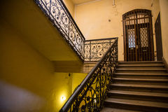 Stairway of old building Stock Image