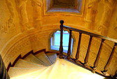 Stairway in a Palace Royalty Free Stock Photo