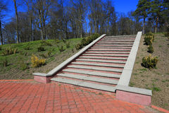 Stairway in park Stock Photos