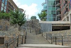с stairway parkway стоковое изображение rf