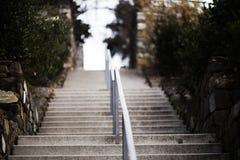 Stairway. Photo of Stairway in park Stock Photo